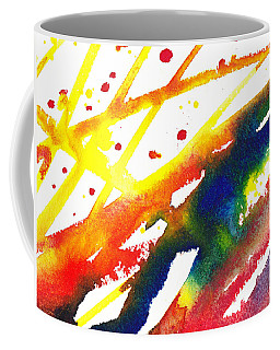 Pure Color Inspiration Abstract Painting Parallel Perception Coffee Mug
