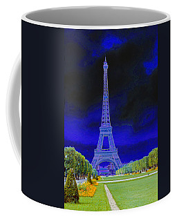 Purple Eiffel Coffee Mug
