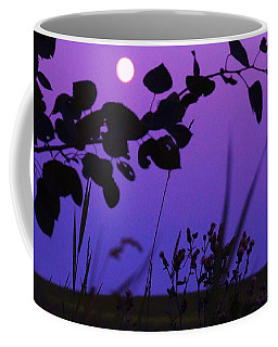 Purple Moon Coffee Mug