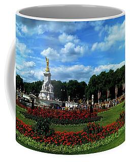 Queen Victoria Memorial At Buckingham Coffee Mug