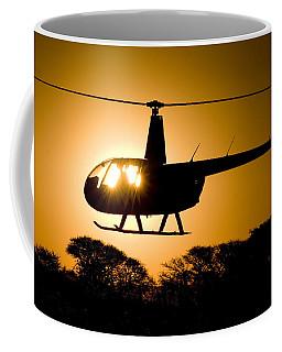 R44 Sunset Coffee Mug by Paul Job