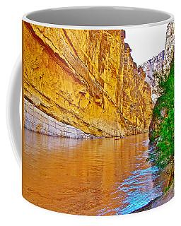 Rafting In Santa Elena Canyon In Big Bend National Park-texas Coffee Mug
