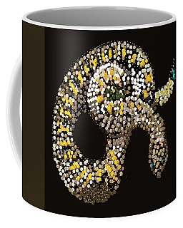 Rattlesnake Bedazzled Coffee Mug