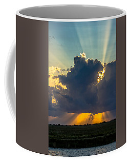 Rays From The Clouds Coffee Mug