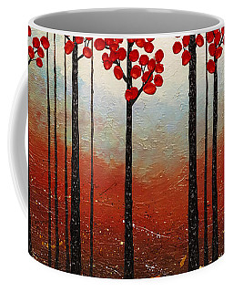 Red Blossom Coffee Mug