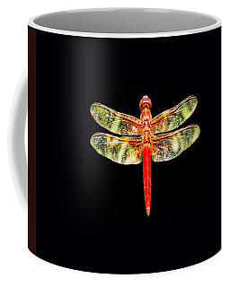 Red Dragonfly Small Coffee Mug