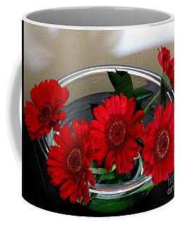 Red Flowers. Special Coffee Mug