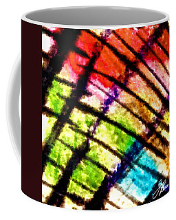 Coffee Mug featuring the painting Red Reach by Joan Reese