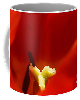 Red Tulip Calyx 3 Coffee Mug