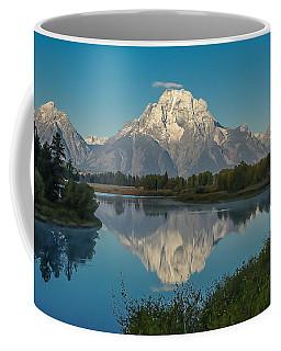 Reflections Of Mount Moran Coffee Mug