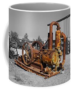 Retired Petroleum Pump Coffee Mug by Richard J Cassato