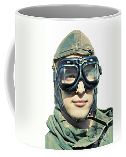 Retro Aviator Coffee Mug