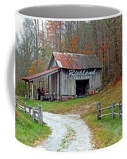 Richland Creek Farm Barn Coffee Mug