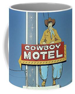 Route 66 - Cowboy Motel Coffee Mug