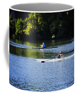 Rowing In Philadelphia Coffee Mug