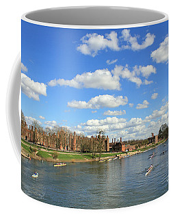 Rowing On The Thames At Hampton Court Coffee Mug