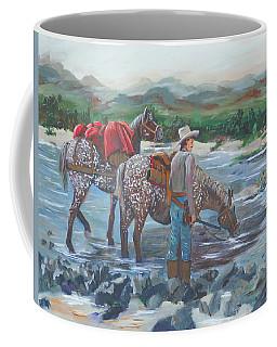 Running Gun Coffee Mug