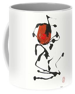 Coffee Mug featuring the painting Rushiasurubi No Kuchibiru by Roberto Prusso