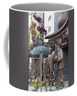 Russian Super-artist Sculptures, Zurab Coffee Mug
