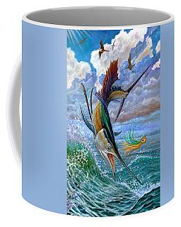 Sailfish And Lure Coffee Mug