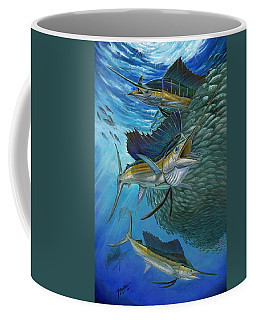 Sailfish With A Ball Of Bait Coffee Mug