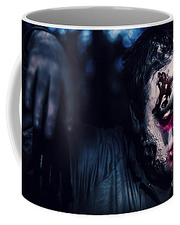 Scary Zombie Looking Gravely Ill. Monster Disease Coffee Mug