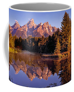 Coffee Mug featuring the photograph Schwabacher Landing by Leland D Howard