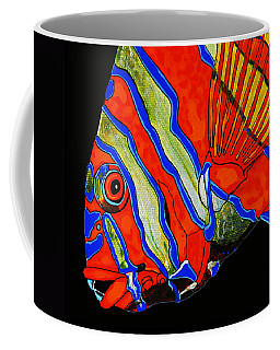 Coffee Mug featuring the painting See Me Sea You by Debbie Chamberlin