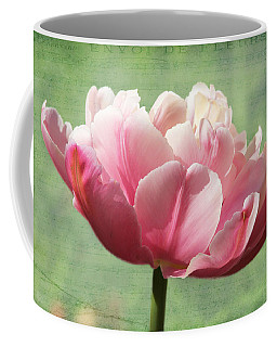 Sending Of Flowers Coffee Mug by Trina  Ansel