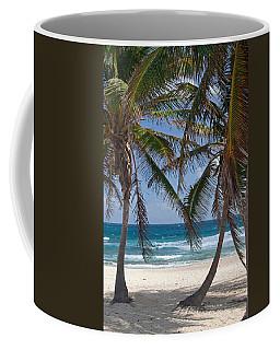 Serene Caribbean Beach  Coffee Mug