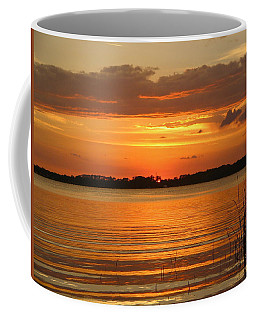 Setting Sun In Mount Dora Coffee Mug