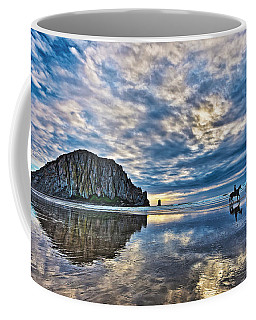 Coffee Mug featuring the photograph Shadow Riders by Beth Sargent