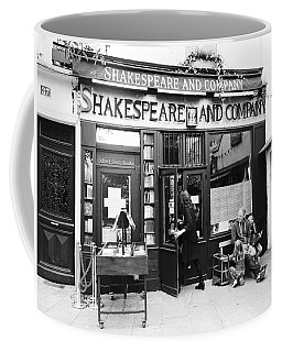 Shakespeare And Company Bookstore In Paris France Coffee Mug