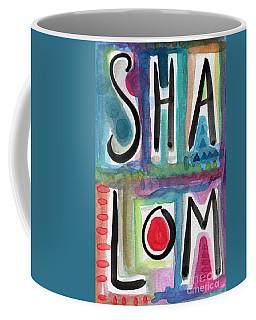 Shalom Coffee Mug by Linda Woods