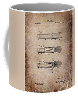 Shaving Brush Diagram 1920  Coffee Mug