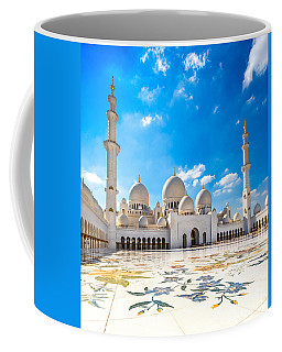 Sheikh Zayed Mosque - Abu Dhabi - Uae Coffee Mug