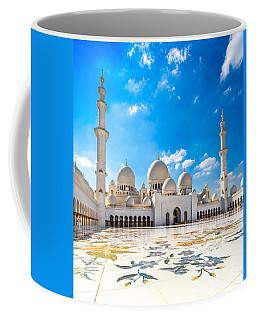 Sheikh Zayed Mosque - Abu Dhabi - Uae Coffee Mug by Luciano Mortula