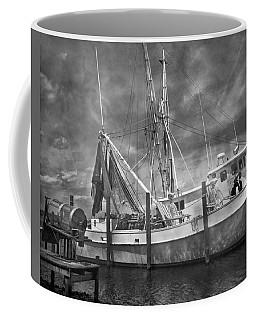 Shrimpin' Boat Captain And Mates Coffee Mug