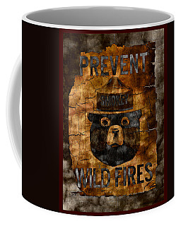 Smokey The Bear Only You Can Prevent Wild Fires Coffee Mug