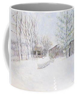 Snowy February Day Coffee Mug