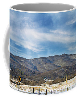 Snowy High Peak Mountain Coffee Mug