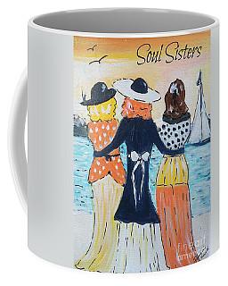 Soul Sisters At Sunset Coffee Mug