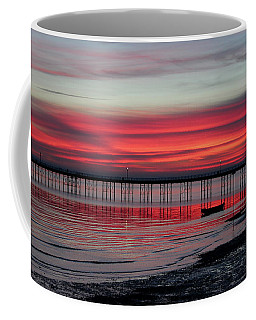 Southend Pier Sunset Coffee Mug