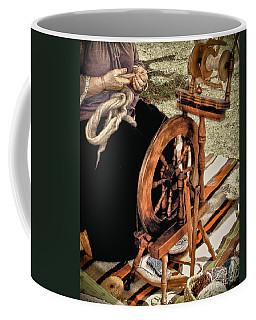 Spinning Wool Coffee Mug