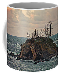 Squaw Island In Sunset Bay Park Coffee Mug