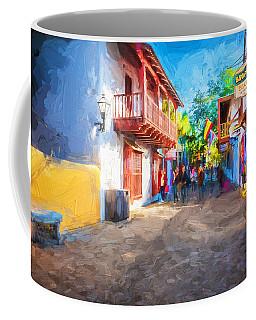 St George Street St Augustine Florida Painted Coffee Mug