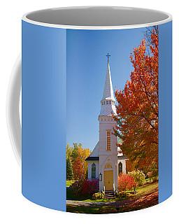 St Matthew's In Autumn Splendor Coffee Mug