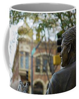 Statue Of Us President Bill Clinton Coffee Mug