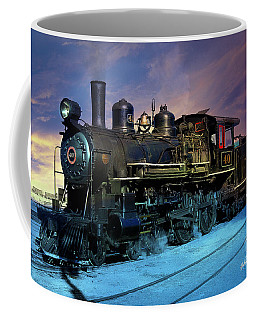 Steam Engine Nevada Northern Coffee Mug