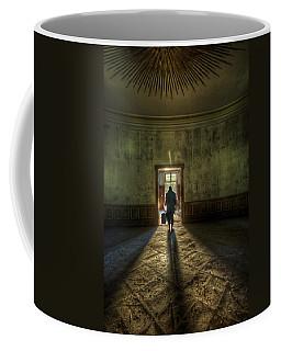 Step Into The Light Coffee Mug by Nathan Wright